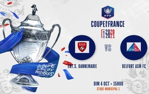 4 ème tour de la COUPE DE FRANCE